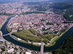 Besançon, ville élue au patrimoine mondial. de l'Unesco.