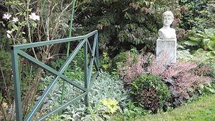 Au jardin.