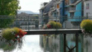 Ornans, la petite Venise.