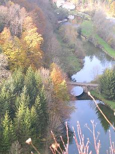 la magnifique vallée du Dessoubre.