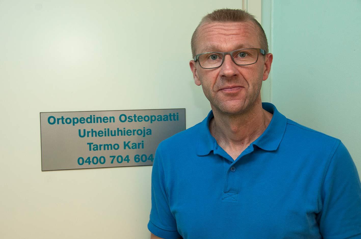 Osteopaatti Tarmo Kari