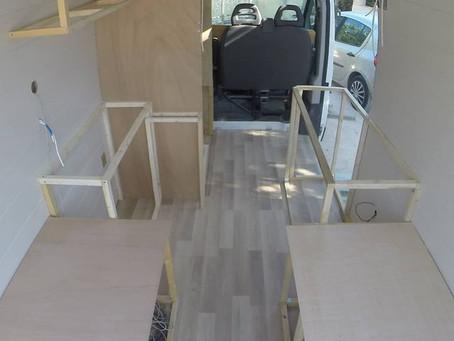 La construction des meubles