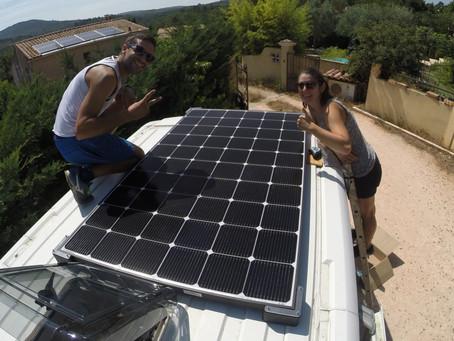 Poser son panneau solaire