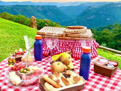 Verão ao ar livre em Gramado