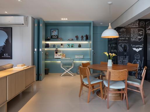 Apartamento com decor GEEK inspirado em STAR WARS