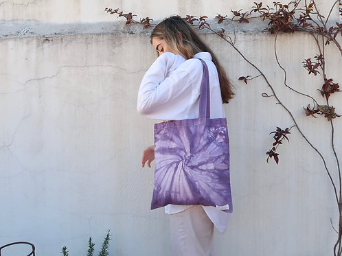 Spiral Tote in Iris