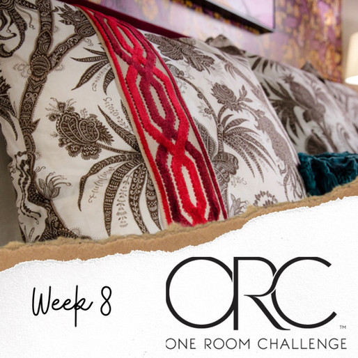 ONE ROOM CHALLENGE - WEEK 8, THE FINAL REVEAL