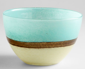 Turquoise Earth Bowl