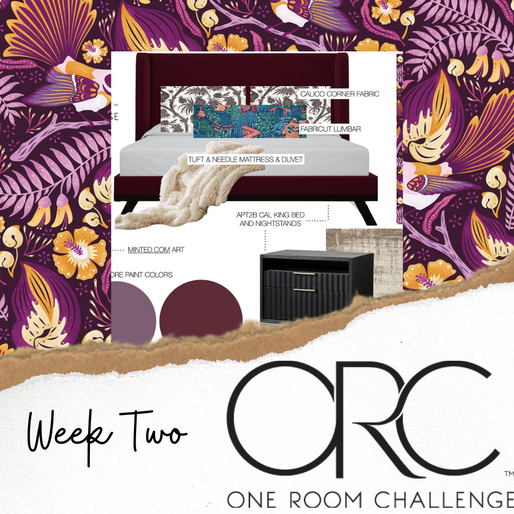 ONE ROOM CHALLENGE: WEEK 2 CONCEPT BOARDS