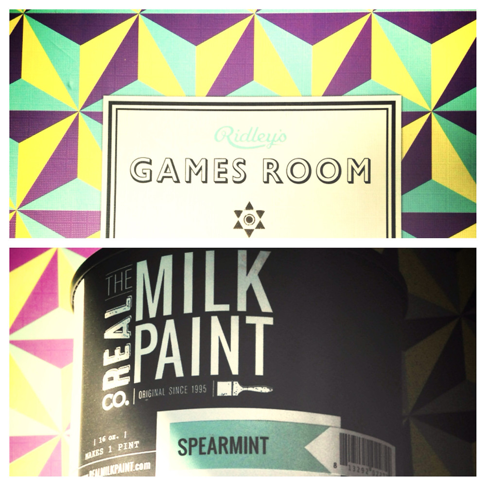 New Milk Paint and Game