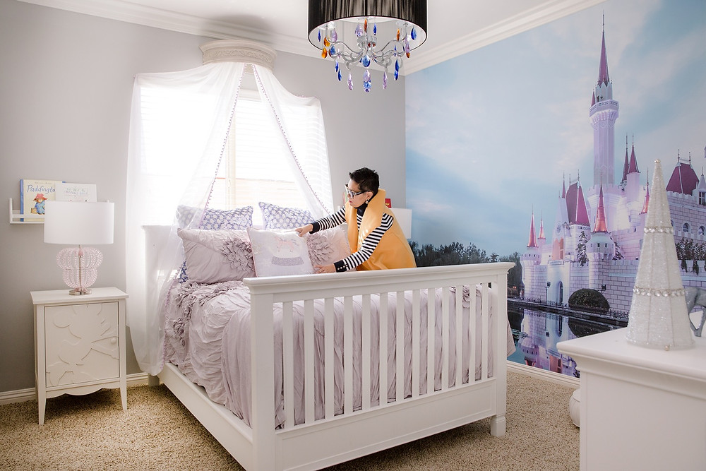 Magic Kingdom Girls Bedroom