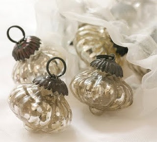 Mercury Glass Baubles
