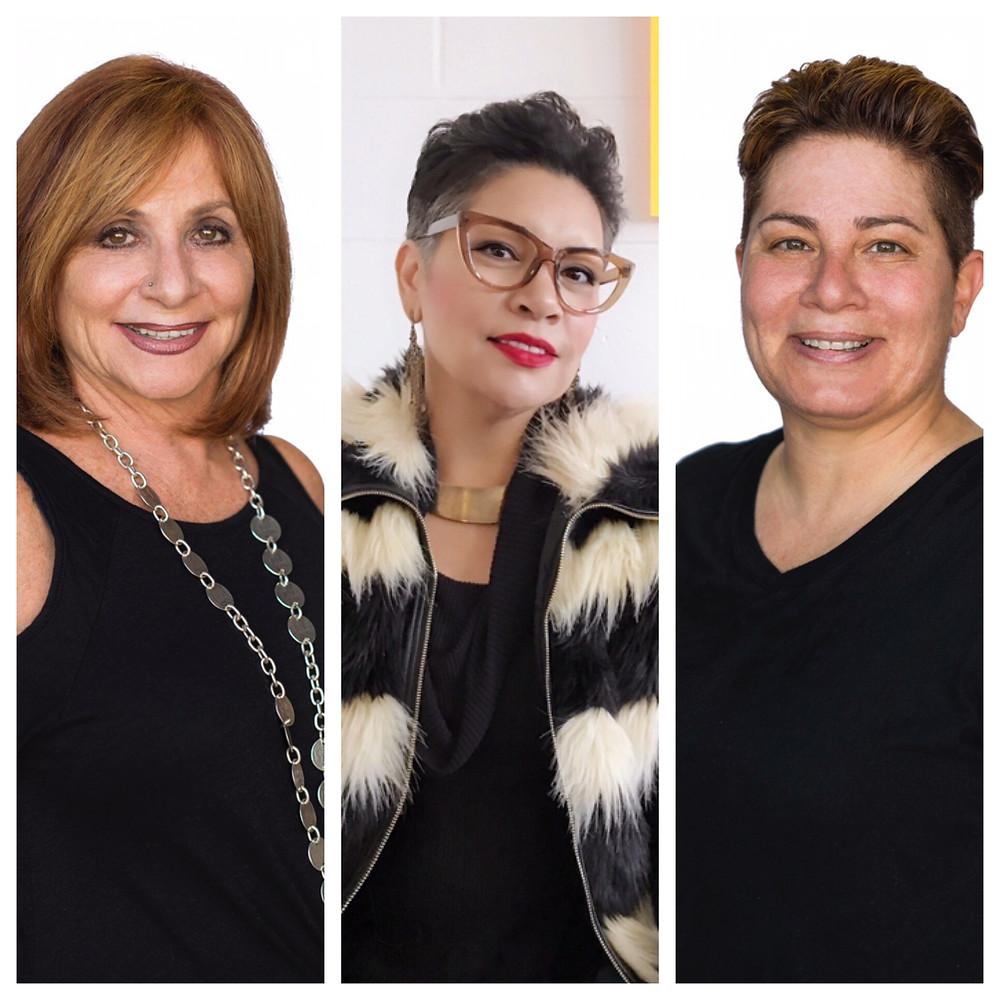 Carol Kaplan, Rachel Moriarty, Danni Kaplan