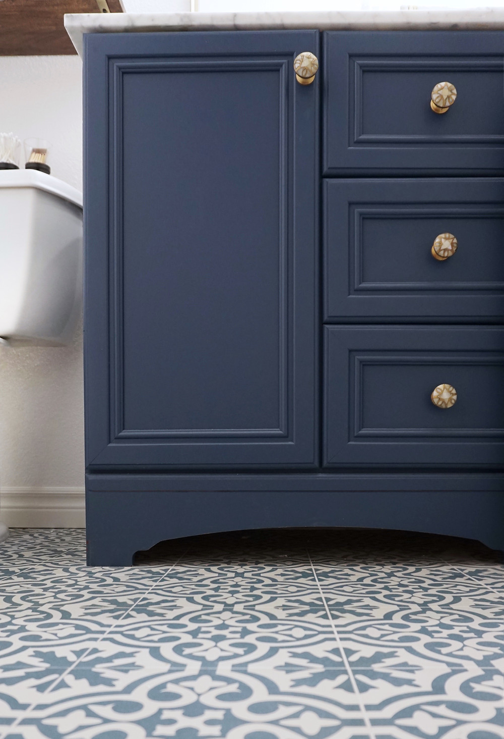 Blue Bathroom Remodel San Diego
