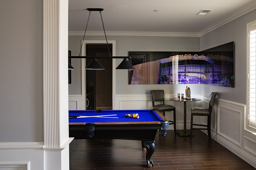 A BILLIARDS ROOM TO PLAY IN STYLE