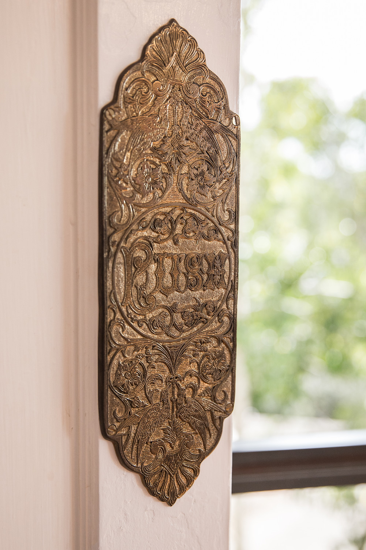 Dining Room Brass Details