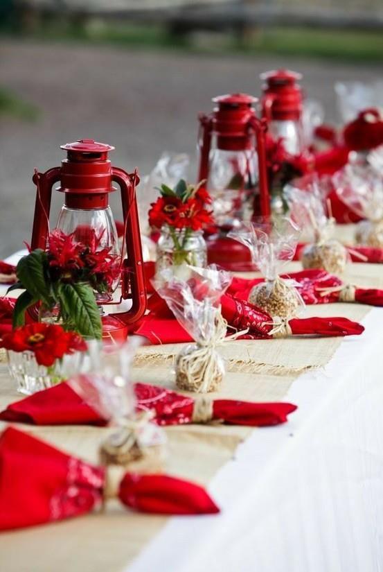Red Vintage Lanterns