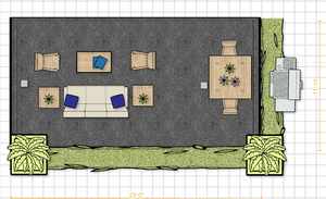 ORC Patio Project - Space Plan