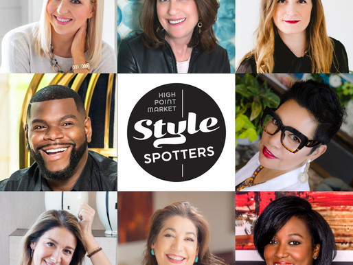 PRESS RELEASE: 2020 HIGH POINT MARKET STYLE SPOTTERS TEAM PRESS RELEASE
