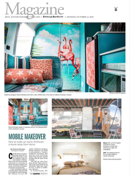IN THE NEWS: AIRSTREAM PROJECT MAKES THE COVER OF PPG MAGAZINE