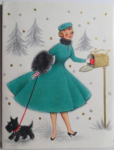 1950's Hallmark Card