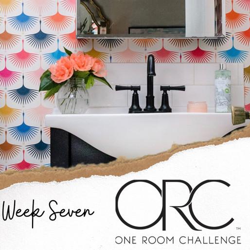 ONE ROOM CHALLENGE - WEEK 7