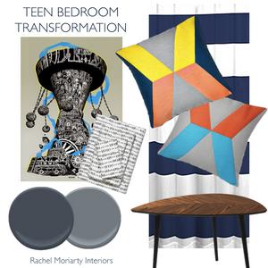 Teen Transformation Mood Board