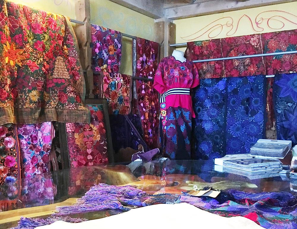 Vibrant Mexican Suzani Textiles