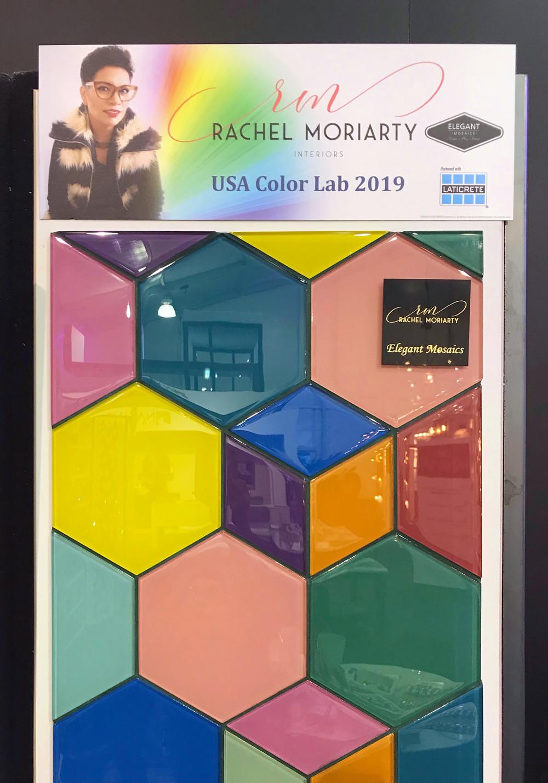 Elegant Mosaics Color Lab with Laticrete Grout