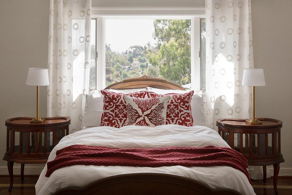 Caliente in bedroom