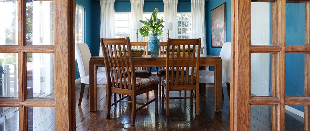 Jewel-Toned Dining Room Makeover