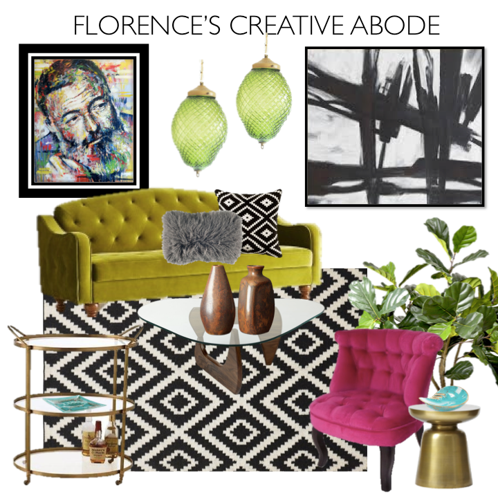 Florence's Creative Abode Mood Board