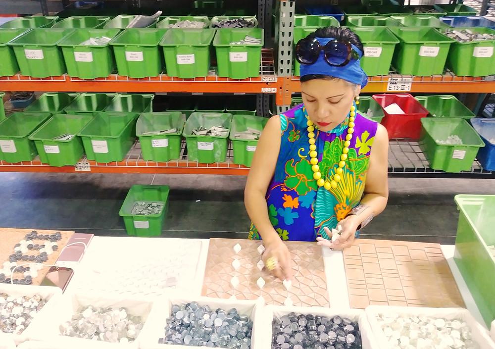 Handcrafting mosaics
