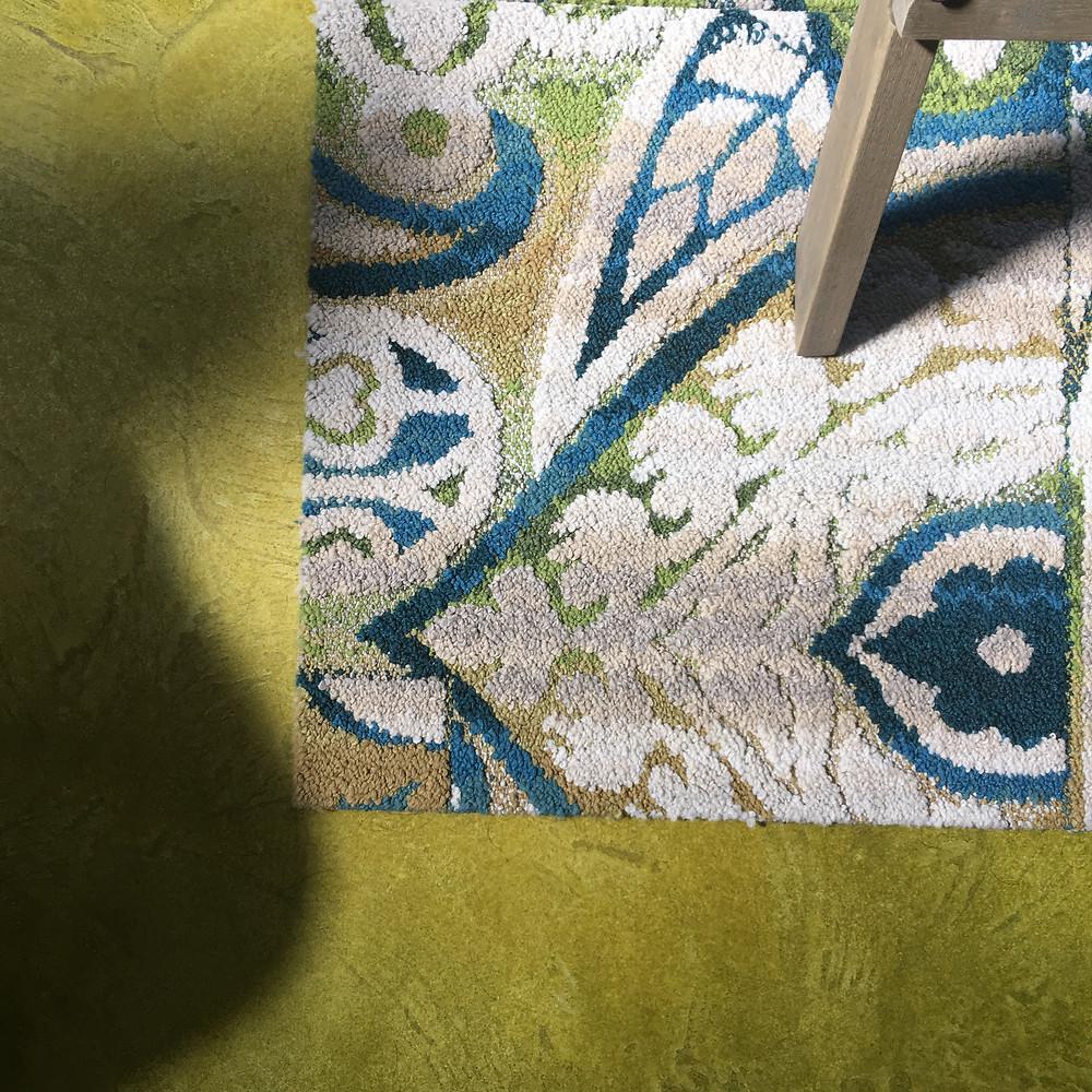 FLOR Tile and concrete flooring detail