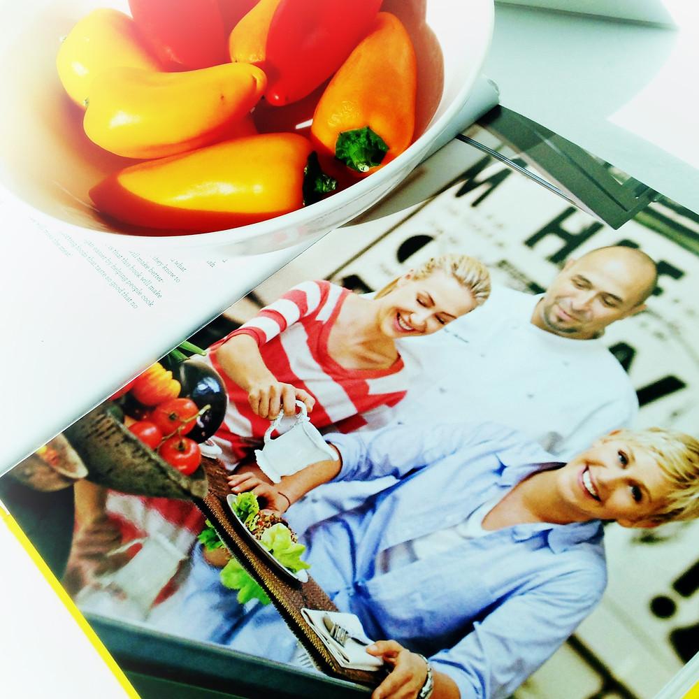 Ellen's Chef's Vegan Cookbook