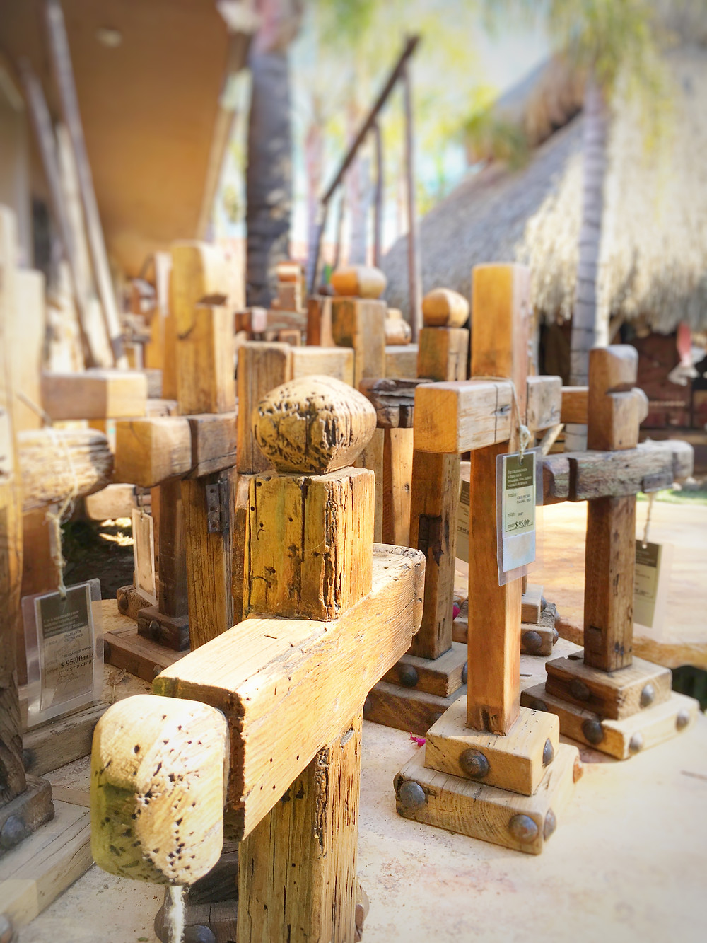 Crosses From Rustic Recycled Wood