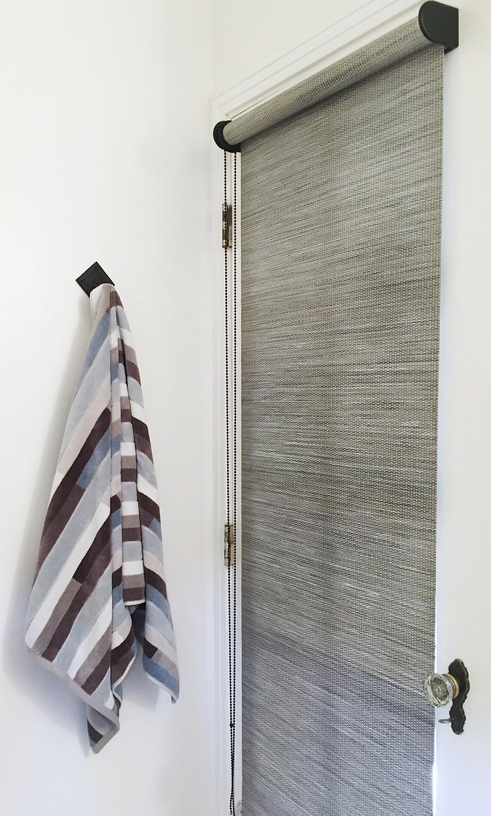 Custom woven roller shade