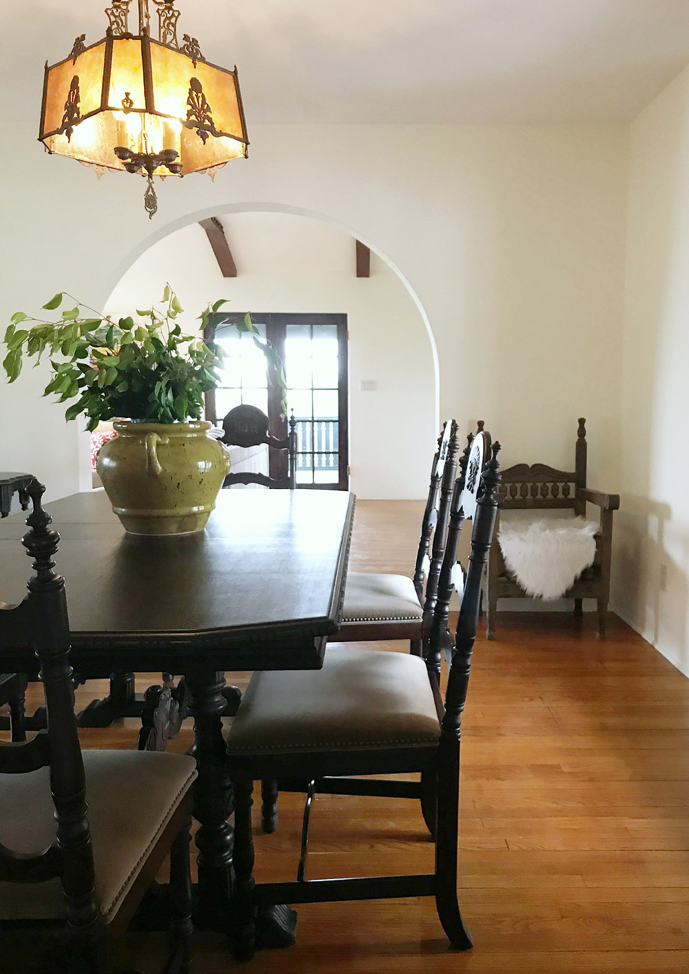 AFTER: Spanish Revival Dining Room