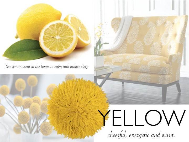Yellow and Lemon