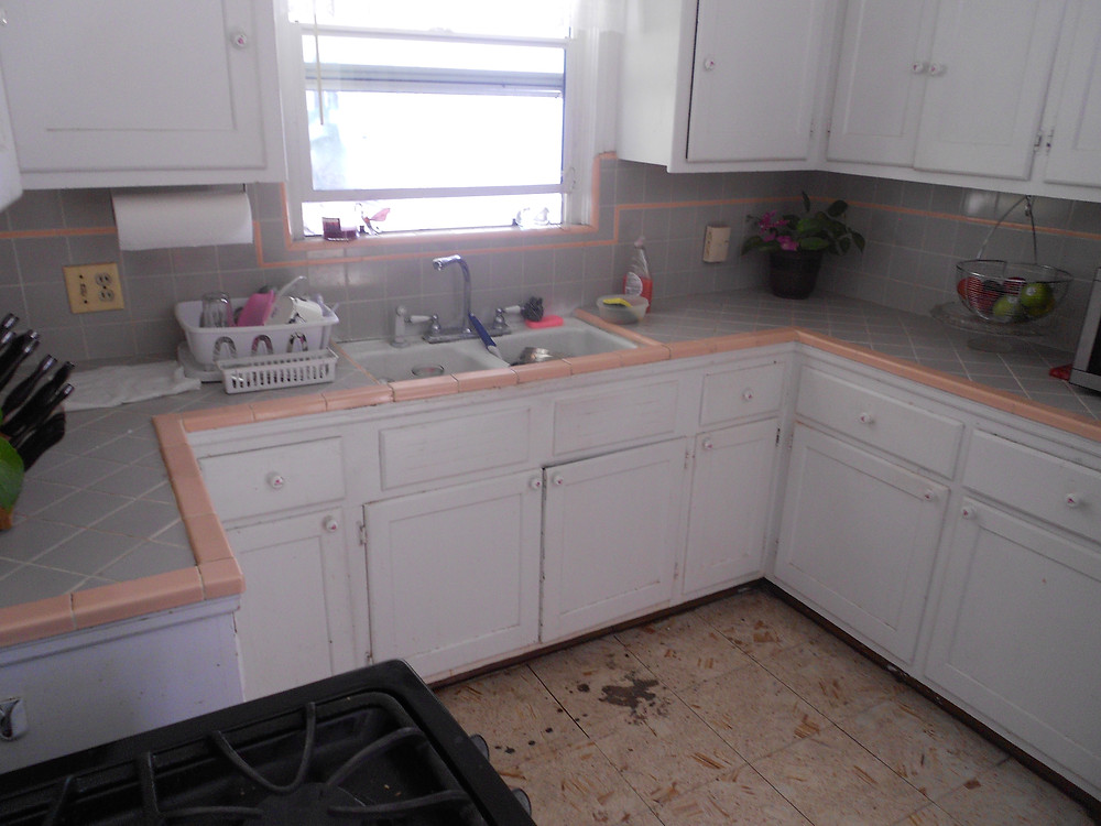 Kitchen BEFORE $5k makeover