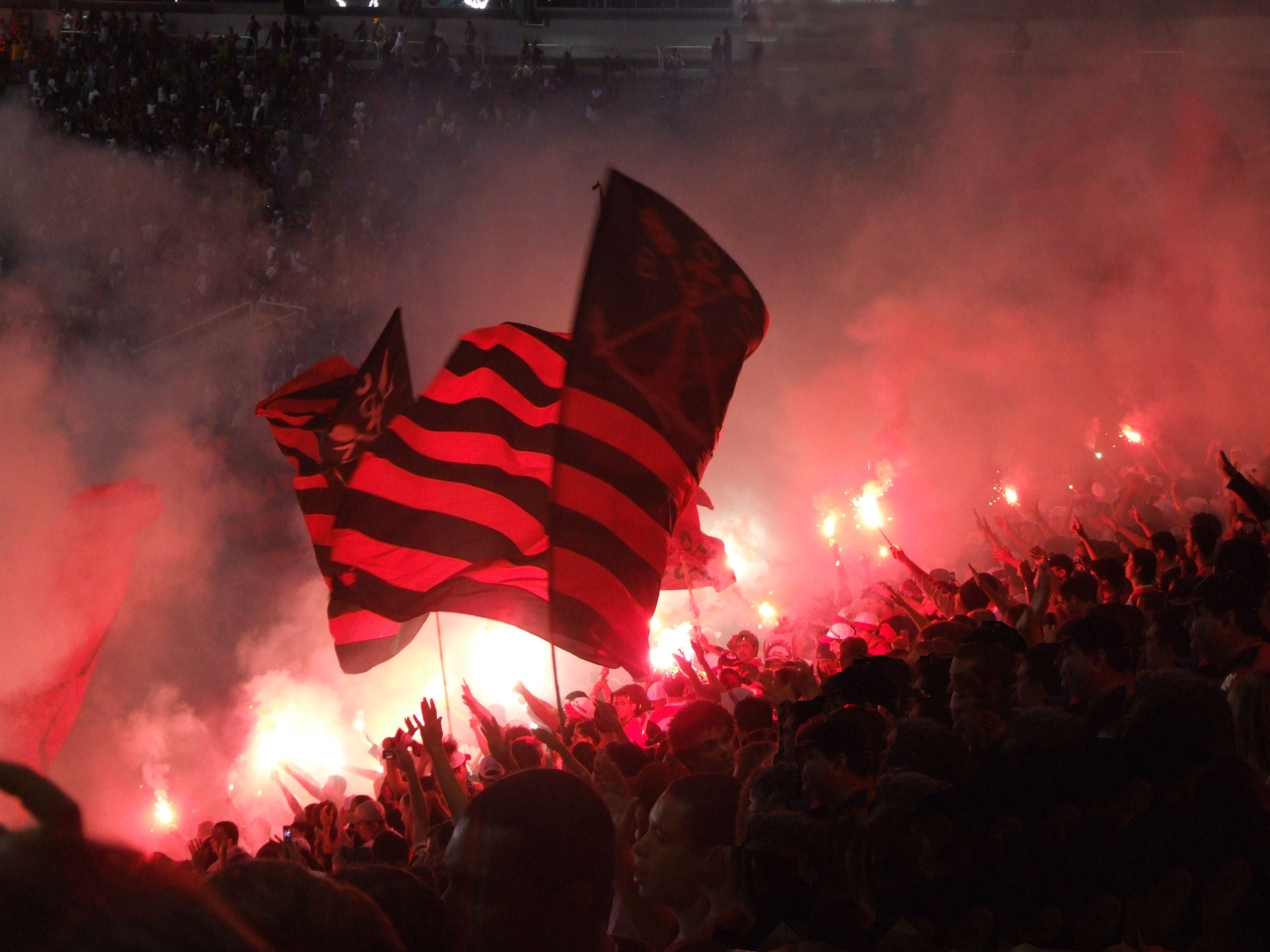 Football Crowd, Rio