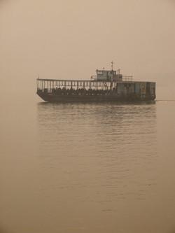 Ferry across the Brahmaputra(2)