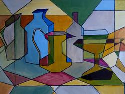 An attempt at cubism