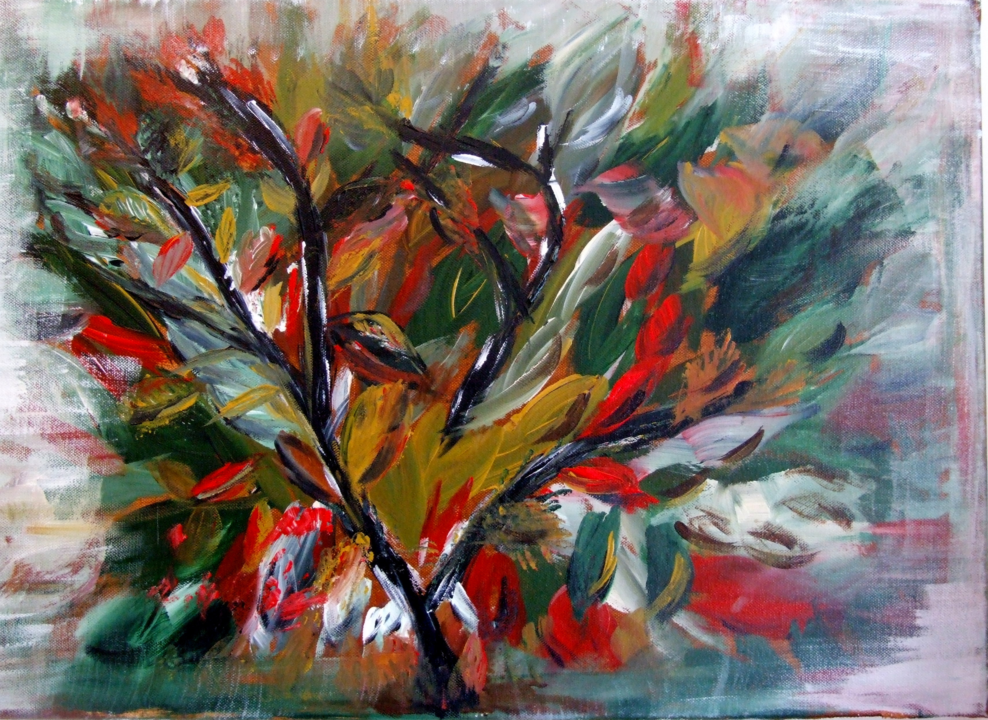 Thirty minute painting attempting to depict Autumn