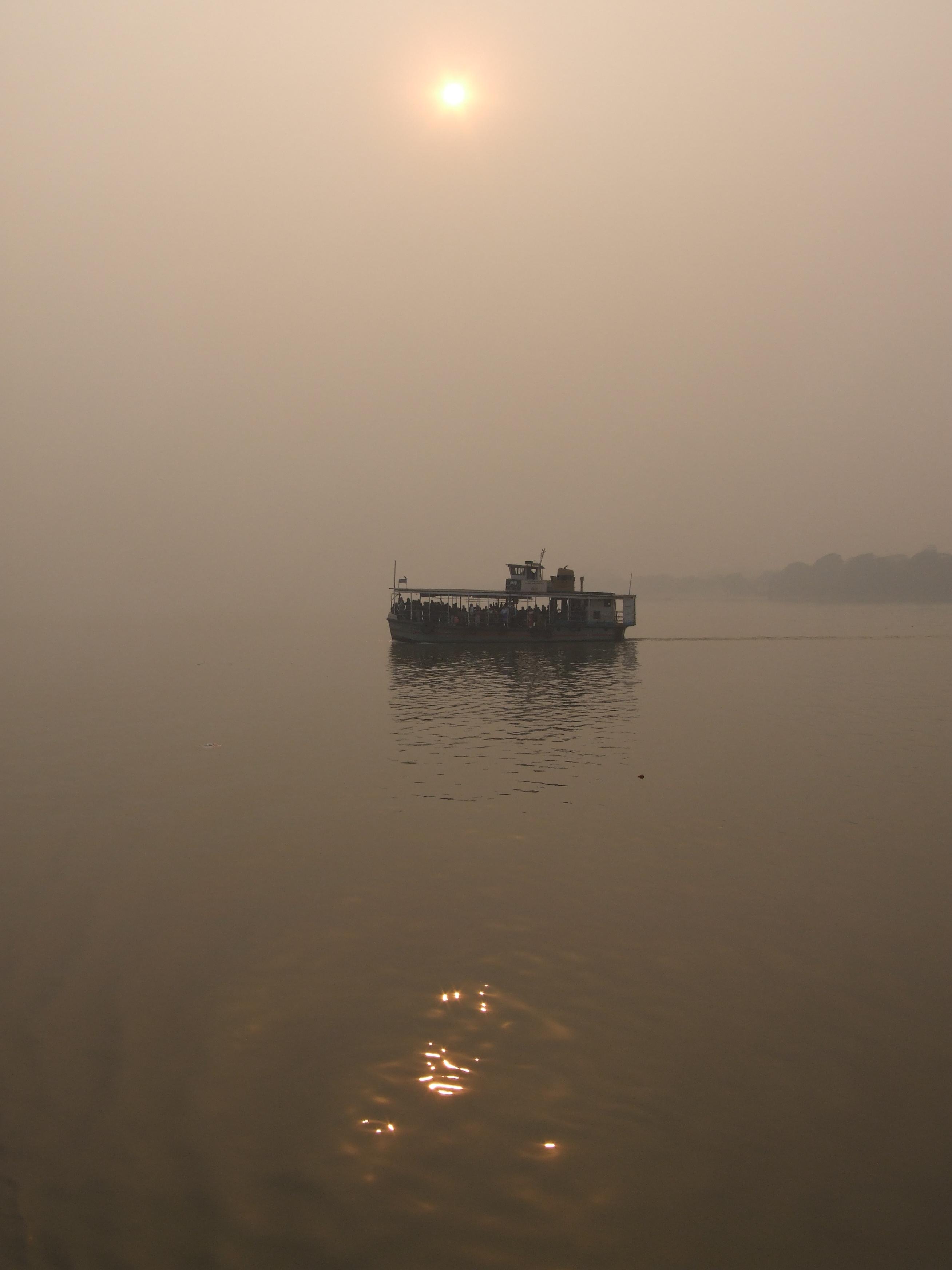 Ferry across the Brahmaputra