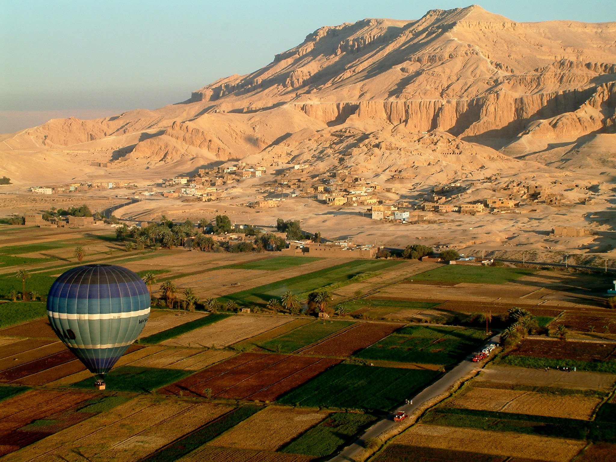 Balloon ride to the Valley of the Kings