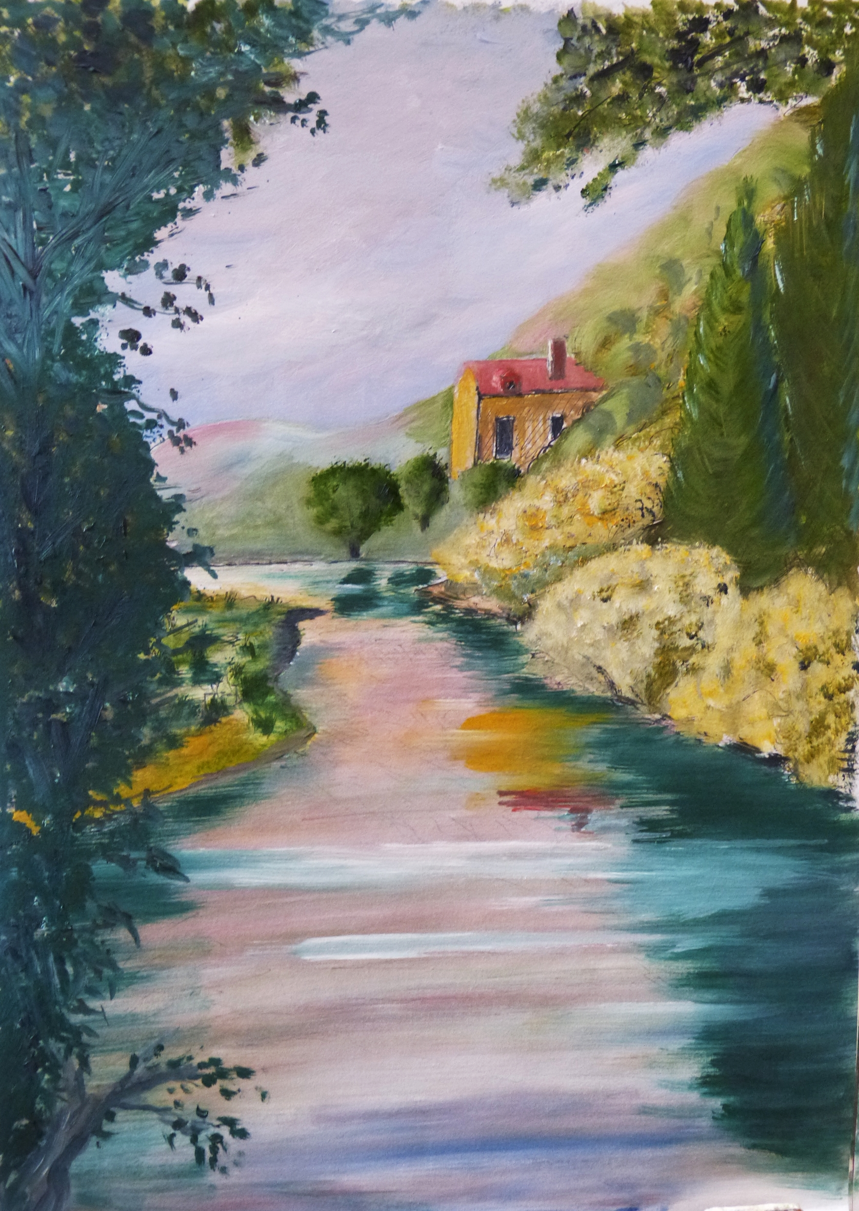 River Valley Scene