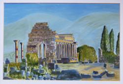 Roman Temple Morocco