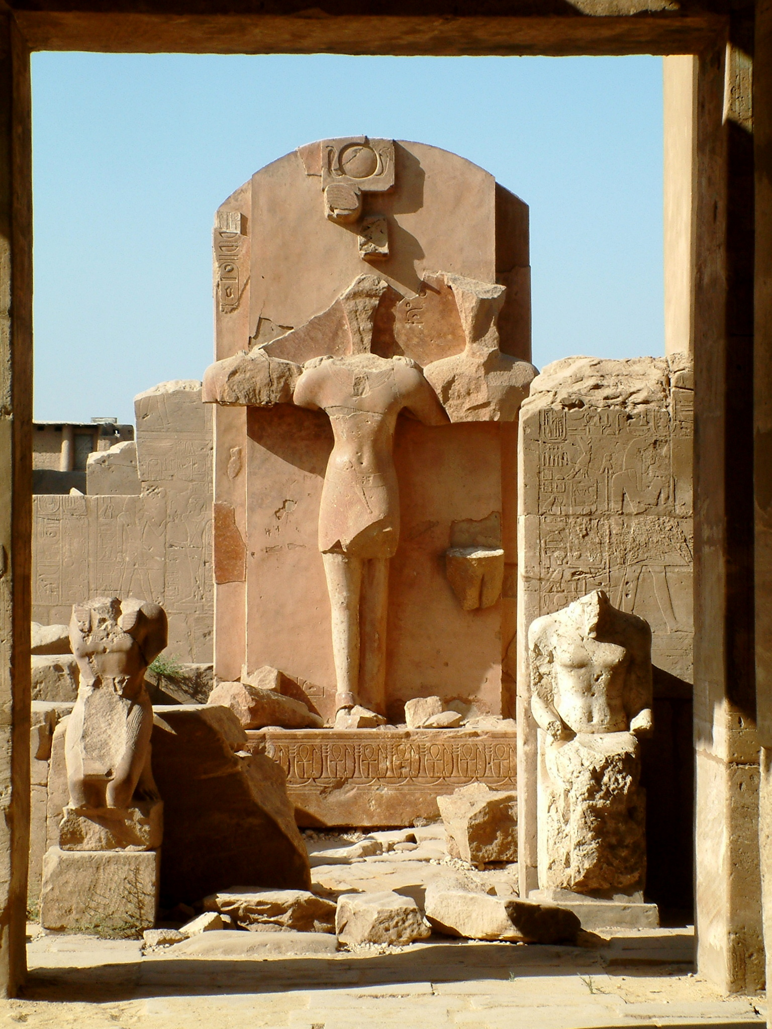 Historic vandalism in Egypt