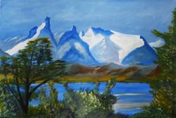 Scene in Patagonia